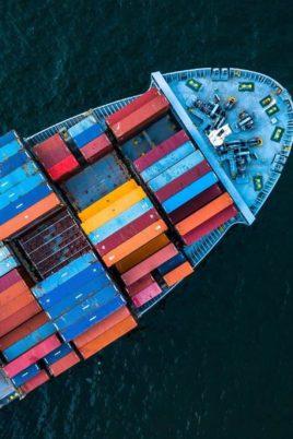 transport marchandises en container