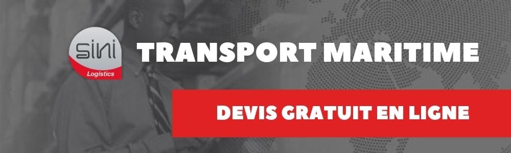 devis gratuit transport conteneur maritime sini logistics