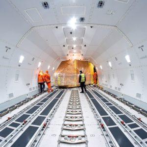 Combien coûte le transport de marchandise par avion ?